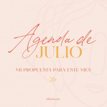 Agenda de Julio